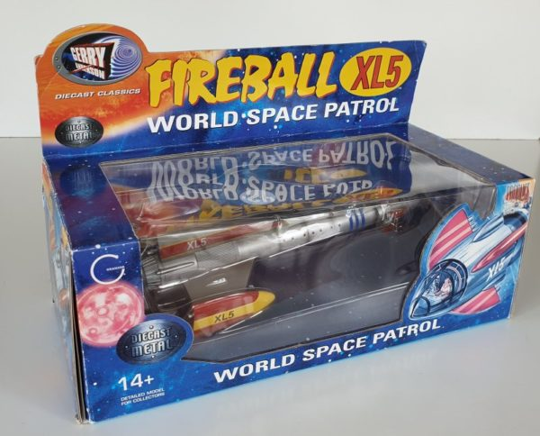 FIREBALL XL5 Diecast Model Product Enterprise