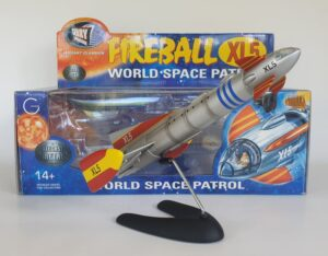 Vintage FIREBALL XL5 Diecast Model Product Enterprise