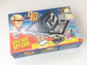 JOE 90 SECRET AGENT SPY CASE Vivid Imaginations 1994