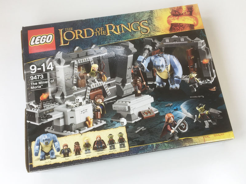 Lego LORD OF THE RINGS THE MINES OF MORIA 9473 box