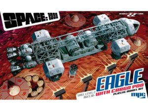 SPACE 1999 EAGLE TRANSPORTER WITH CARGO POD 1:48 Scale Model Kit MPC