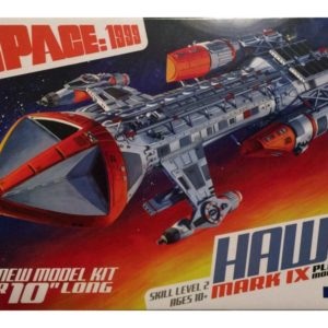 SPACE 1999 HAWK Mk. IX 1:72 Scale Model Kit MPC