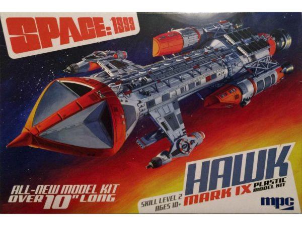 SPACE 1999 HAWK Mk. IX 1:72 Scale Model Kit MPC