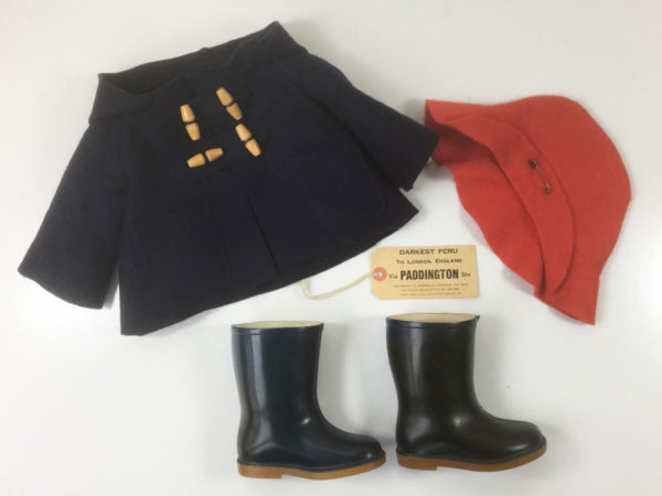 Vintage Paddington Bear 1970s Gabrielle Designs clothes