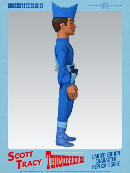 SCOTT TRACY Thunderbirds Collectable Figure by Big Chief Studios