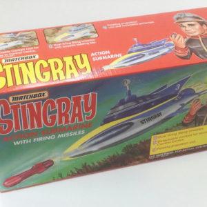 Vintage 'STINGRAY' ACTION SUBMARINE Matchbox 1993