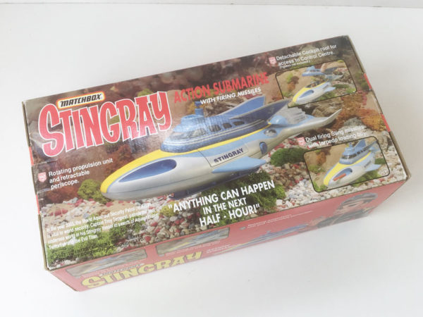 Vintage 'STINGRAY' ACTION SUBMARINE Matchbox 1993