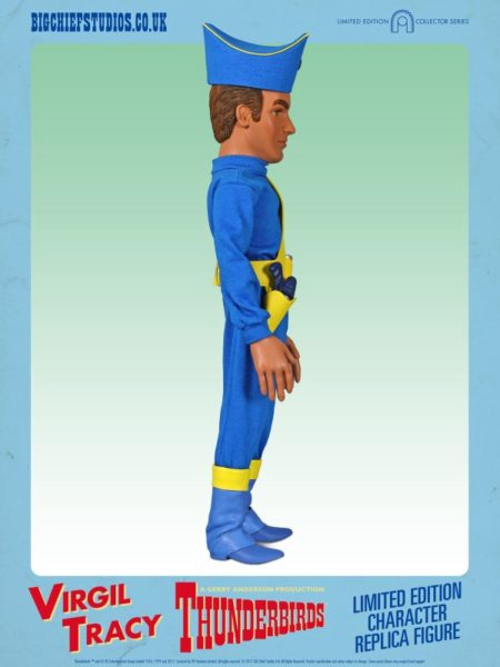 VIRGIL TRACY Thunderbirds Collectable Figure by Big Chief Studios