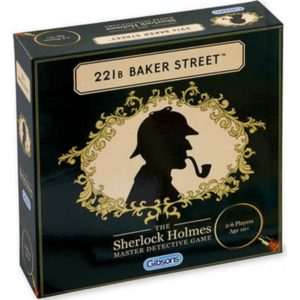221b Baker Street Board Game box