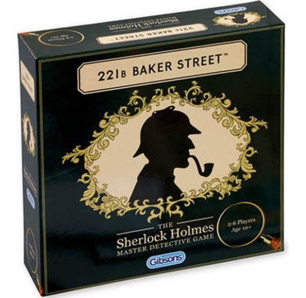 221b Baker Street Board Game box