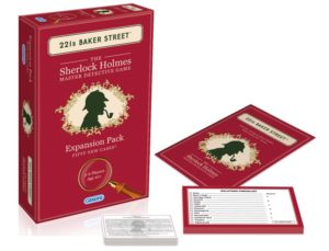 '221b BAKER STREET' BOARD GAME EXPANSION PACK 50 New Cases