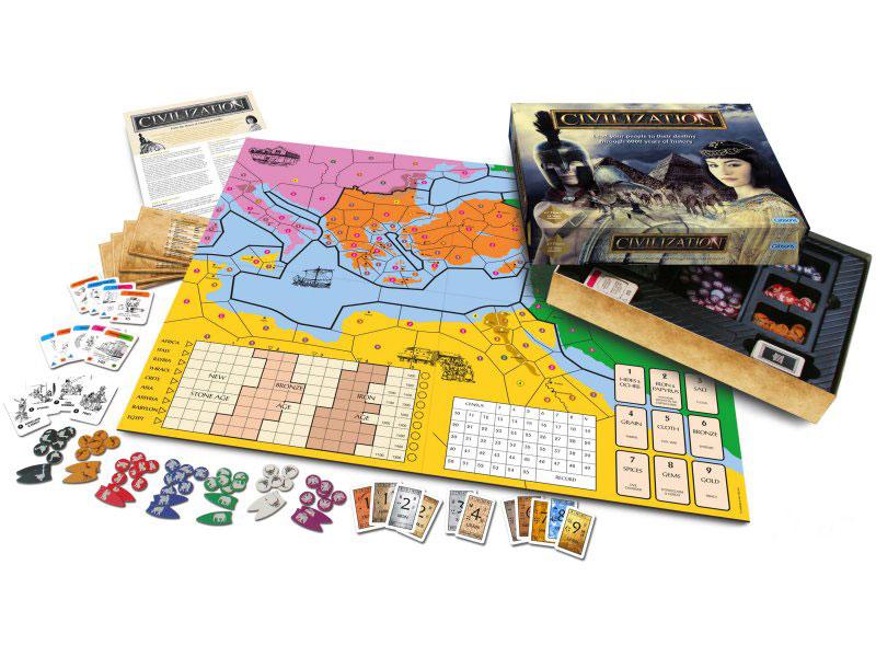 CIVILIZATION Board Game contents