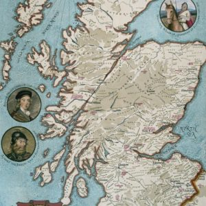 'CLANS AND FAMILIES OF SCOTLAND' Wentworth Wooden Jigsaw Puzzle