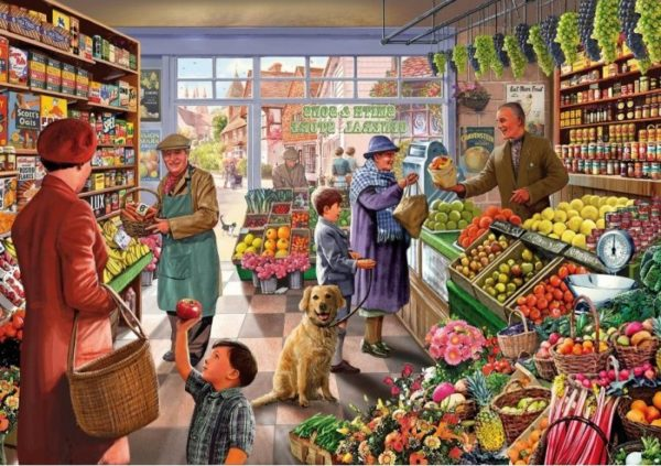 'GREENGROCER' Wentworth Wooden Jigsaw Puzzle