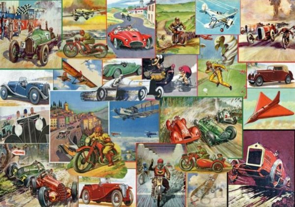 THE RACING GAME Jigsaw Puzzle 1000 Gibsons