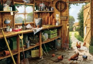 THE GARDEN SHED Jigsaw Puzzle 500 pieces Gibsons