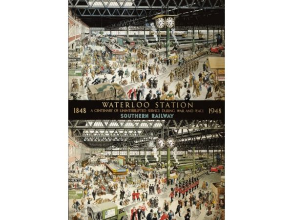 WATERLOO STATION Jigsaw Puzzle 1000 Gibsons