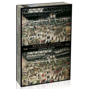 WATERLOO STATION Jigsaw Puzzle 1000 Gibsons box