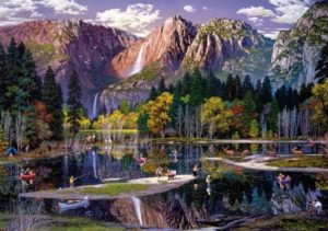 'YOSEMITE IN FALL' Wentworth Wooden Jigsaw Puzzle