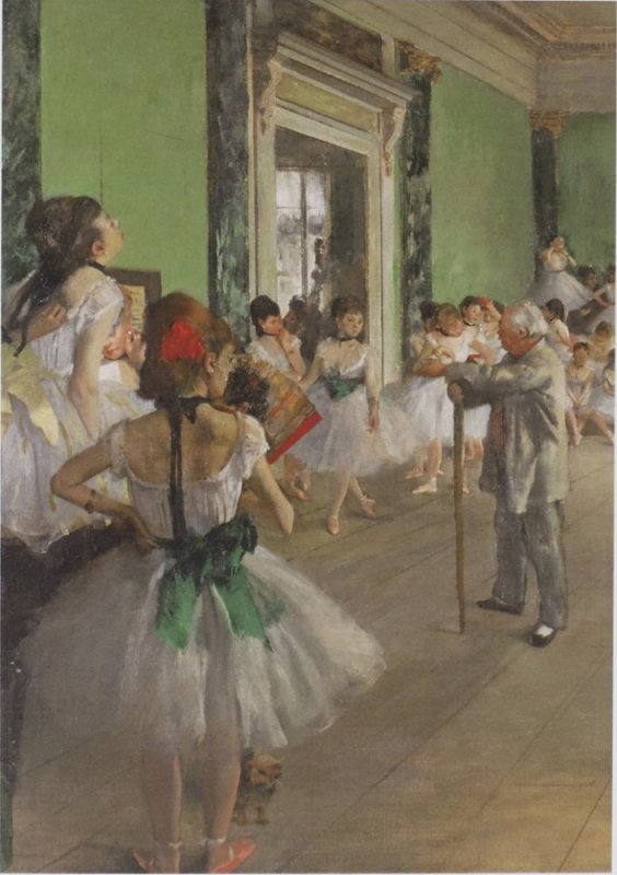 'THE DANCE CLASS' (DEGAS) Wentworth Wooden Jigsaw Puzzle