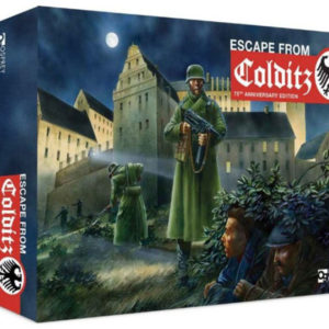 ESCAPE FROM COLDITZ Board Game Anniversary Edition box