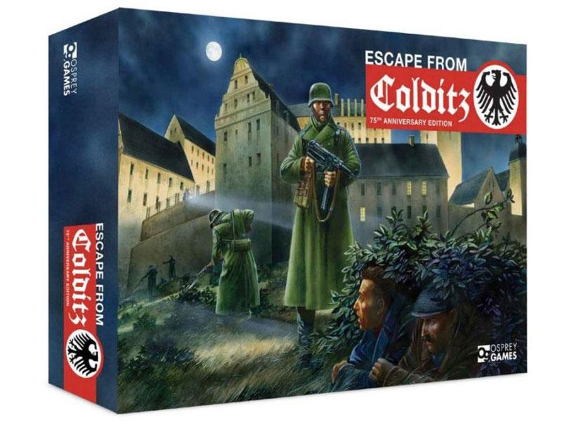 ESCAPE FROM COLDITZ Board Game Anniversary Edition box