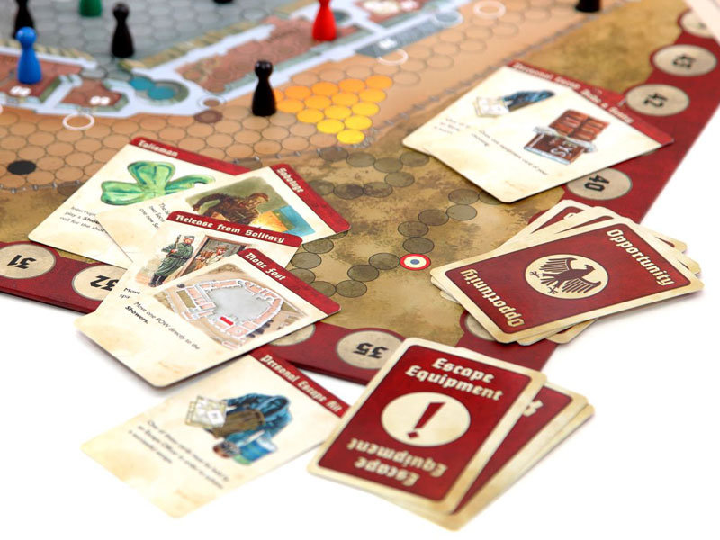 ESCAPE FROM COLDITZ Board Game Anniversary Edition detail