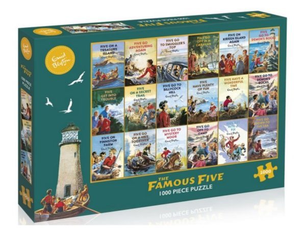 THE FAMOUS FIVE Jigsaw Puzzle 1000 pieces Gibsons