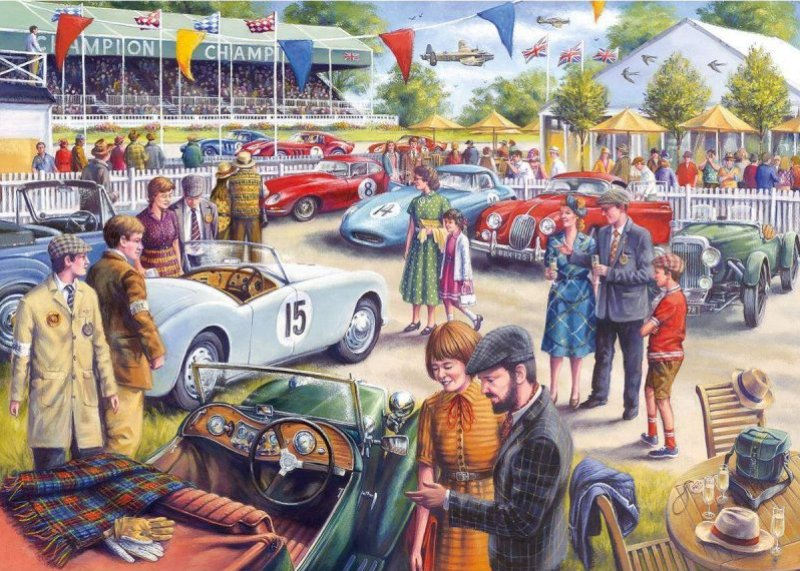 THE GLORY DAYS Jigsaw Puzzle 1000 Gibsons