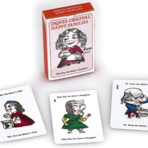 Happy Families Card Game Jaques