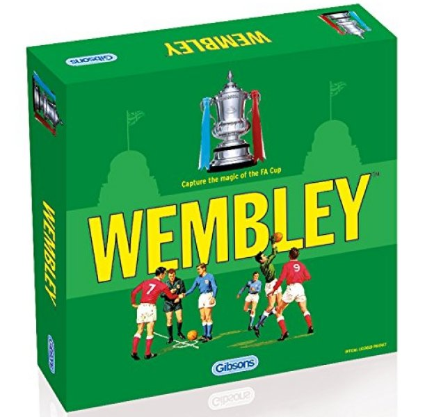 'WEMBLEY' Board Game (Updated Edition) box