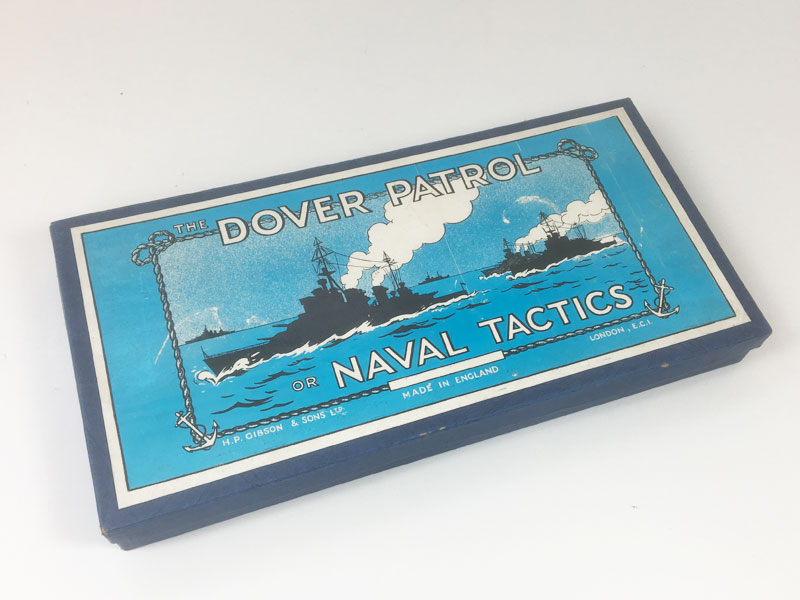 DOVER PATROL Board Game 1940s 1950s Gibson