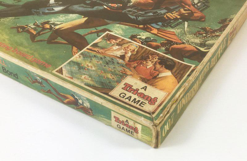 JAMES BOND '007 UNDERWATER BATTLE' Board Game Triang 1960's