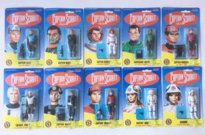 Vintage Captain Scarlet action figures (complete set) Vivid Imaginations 1993