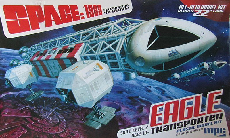 SPACE 1999 EAGLE TRANSPORTER 1:48 Scale Model Kit MPC
