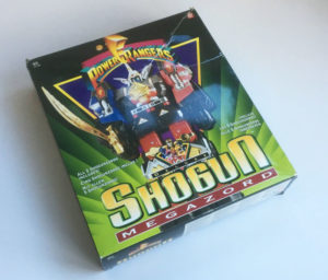 Vintage Power Rangers Deluxe Shogun Megazord box
