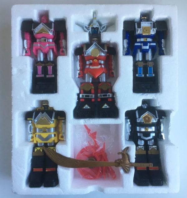 Vintage Power Rangers Deluxe Shogun Megazord Shogunzords