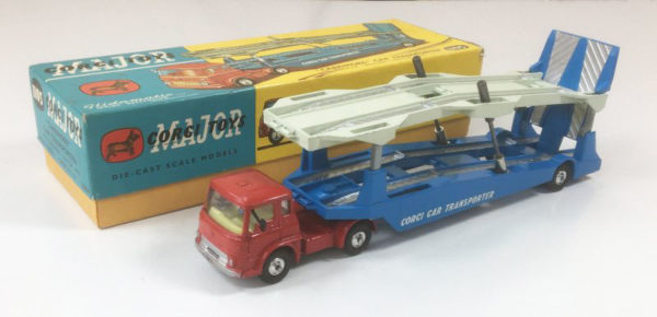 Vintage Corgi 1105 Carrimore Car Transporter