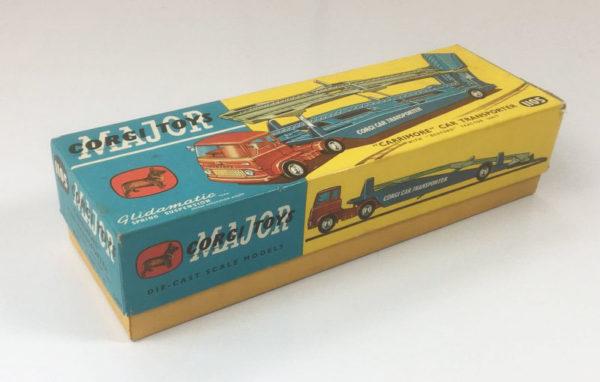 Vintage Corgi 1105 Carrimore Car Transporter box