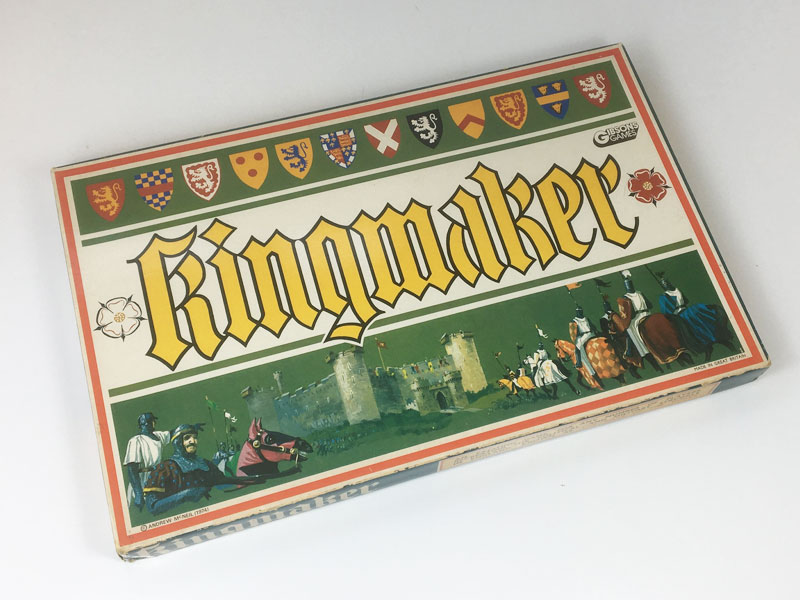 Vintage Kingmaker board game box