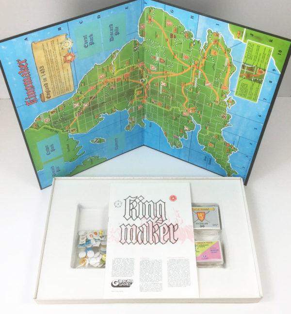 Vintage Kingmaker board game