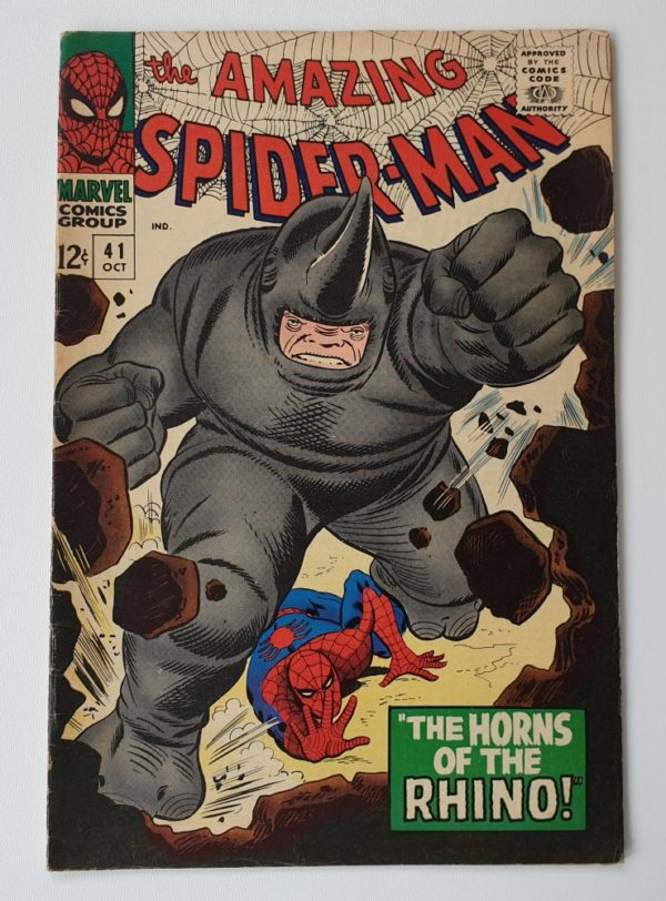 Amazing Spider-Man 41 Vintage Marvel comic 1966 cover