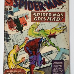 Amazing Spider-Man 24 Vintage Marvel comic 1965