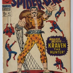 Amazing Spider-Man 47 vintage Marvel comic 1967
