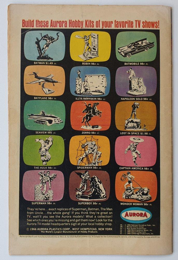 Amazing Spider-Man 47 vintage Marvel comic 1967