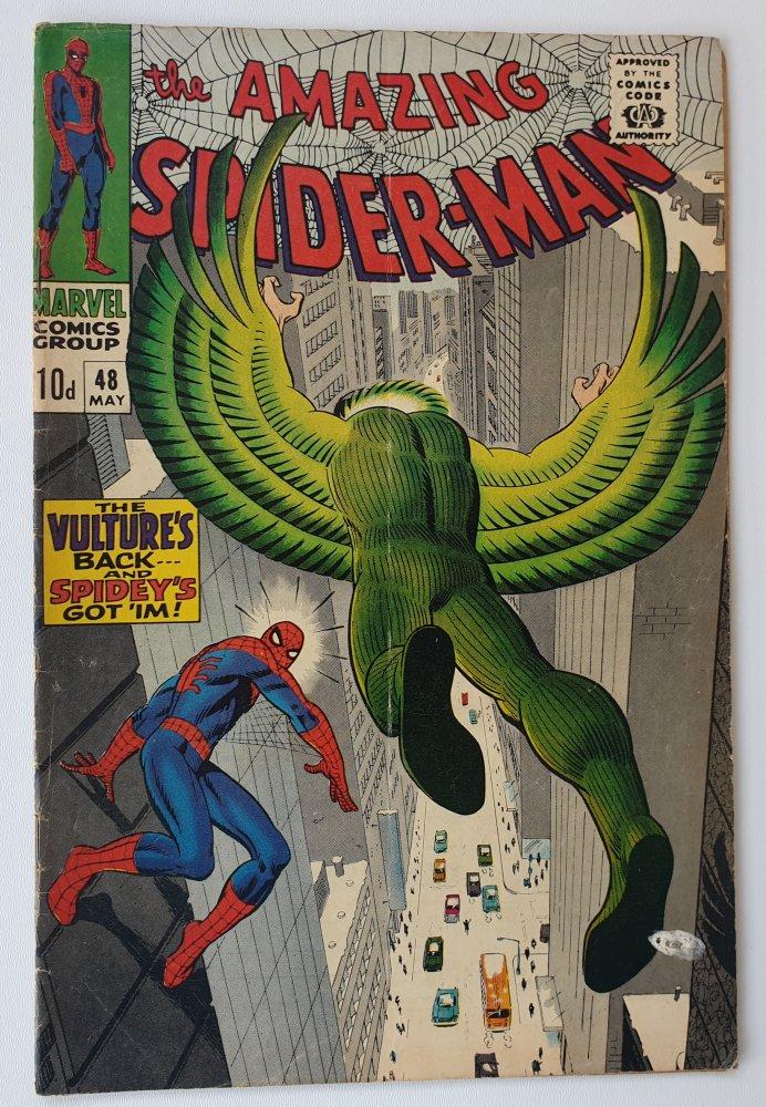 Amazing Spider-Man 48 vintage Marvel comic 1967