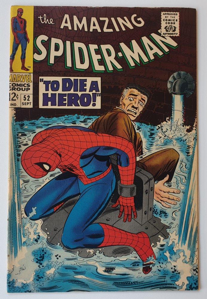 Amazing Spider-Man 52 vintage Marvel comic 1967