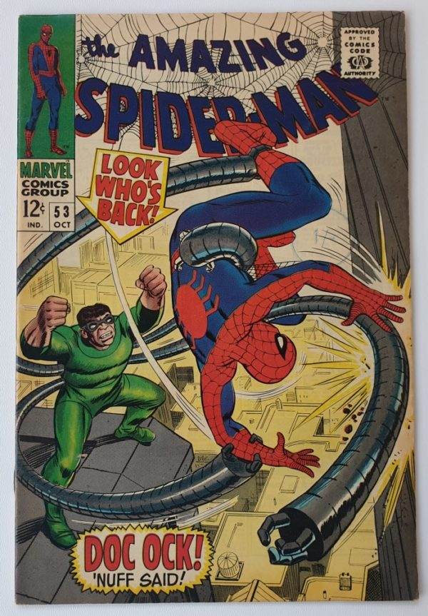 Amazing Spider-Man 53 vintage Marvel comic 1967