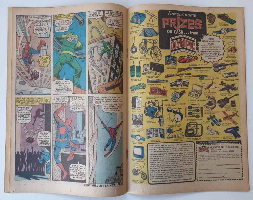 Amazing Spider-Man 53 vintage Marvel comic 1967