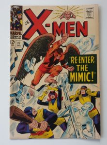'The X-Men' #27 Vintage Marvel comic 1966